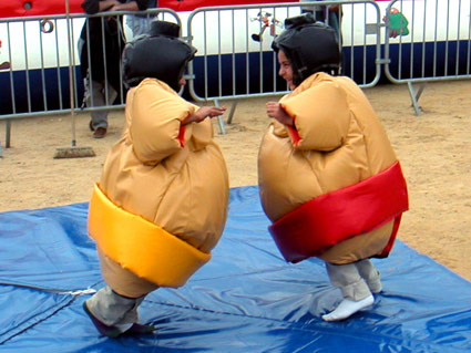 Costume de Sumo Enfants